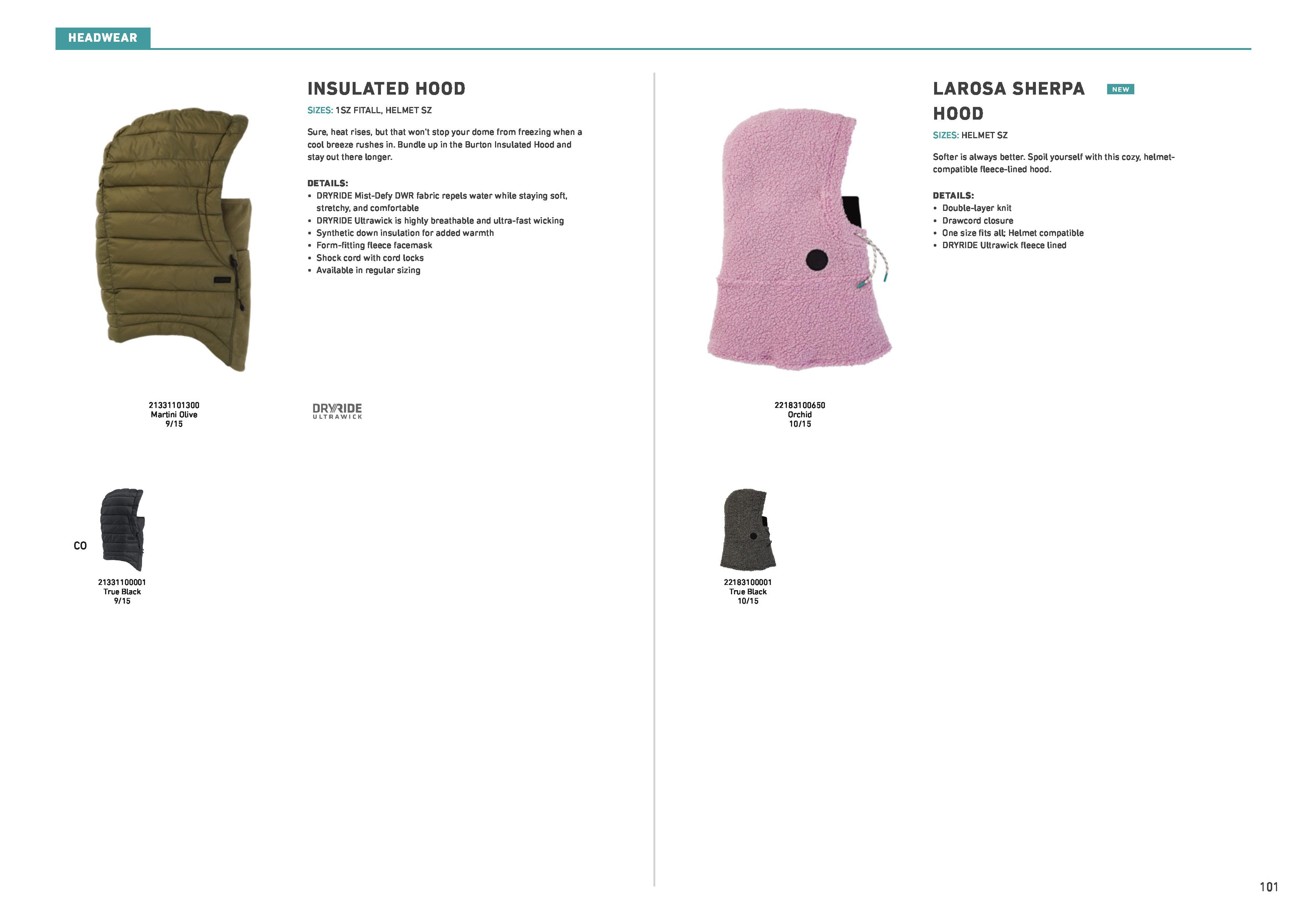 2021 apparel